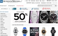 Global Supplier of Swiss Luxury Authentic Watches: AuthenticWatches.com