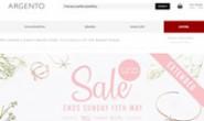 Global Online Jewellery and Watch Retailer:Argento