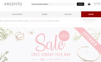 Global Online Jewellery and Watch Retailer:Argento