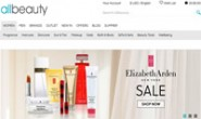 British Famous Cosmetics Discount Website: Allbeauty
