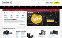 Poland Digital Cameras and Accessories Online Shop: Cyfrowe.pl