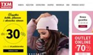 Polish Family Clothing Shopping Website: TXM