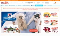 Italian Pet Supplies Shopping Website: Bauzaar