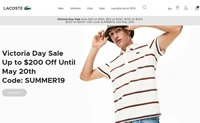 Lacoste Canada Official Site: Polos, T-Shirts, Shoes & More