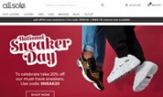 AllSole UK: Online Footwear Boutique