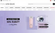 Feelunique Germany Site: Europe's Largest Online Beauty Retailer