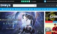 Best Selling Video Games: CDKeys.com