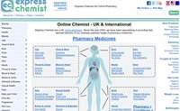 Online Pharmacy UK: Express Chemist