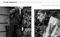 Club Monaco Canada Site: Designer Men's & Women's Clothing