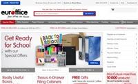 UK Online Discount Office Supplies Retailer: Euroffice