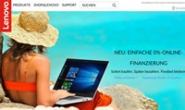 Lenovo Germany Official Website: Lenovo DE