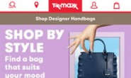 A Well-Known Discount Mall in the UK: TK Maxx