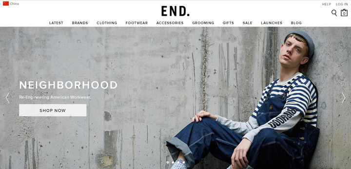 Globally Sourced Menswear: END. World68 Global Shopping