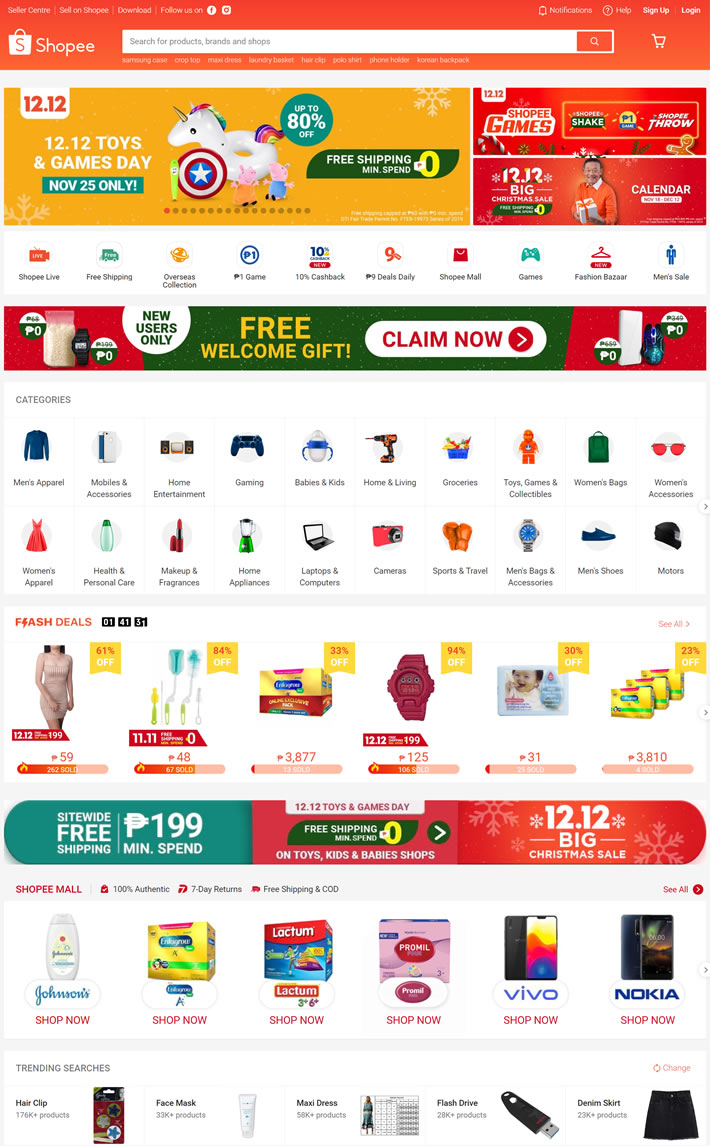 Shopee Philippines Buy and Sell Online   World20 Global Shopping ...